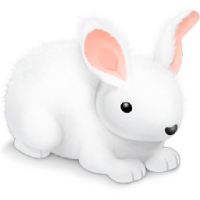 Follow The White Rabbit. Text mode only. Image inserted by SSuite Office Fandango Desktop Editor