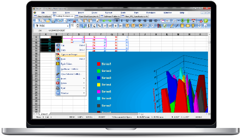 Screenshot of SSuite - Accel Spreadsheet