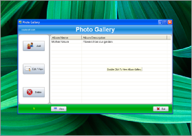 Screenshot One of SSuite Photo Gallery. SSuite Photo Gallery Portable is a program which allows you to easily create albums from your image files, in a user-friendly environment. Since installation is not necessary, you can store SSuite Photo Gallery Portable on a removable device (like a USB flash drive), plug into any computer and directly run its executable file. But the most important fact is that your Windows registry keys will remain intact.